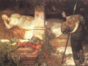 The Dream of the Consciousness: The Metaphor of the Sleeping Maiden