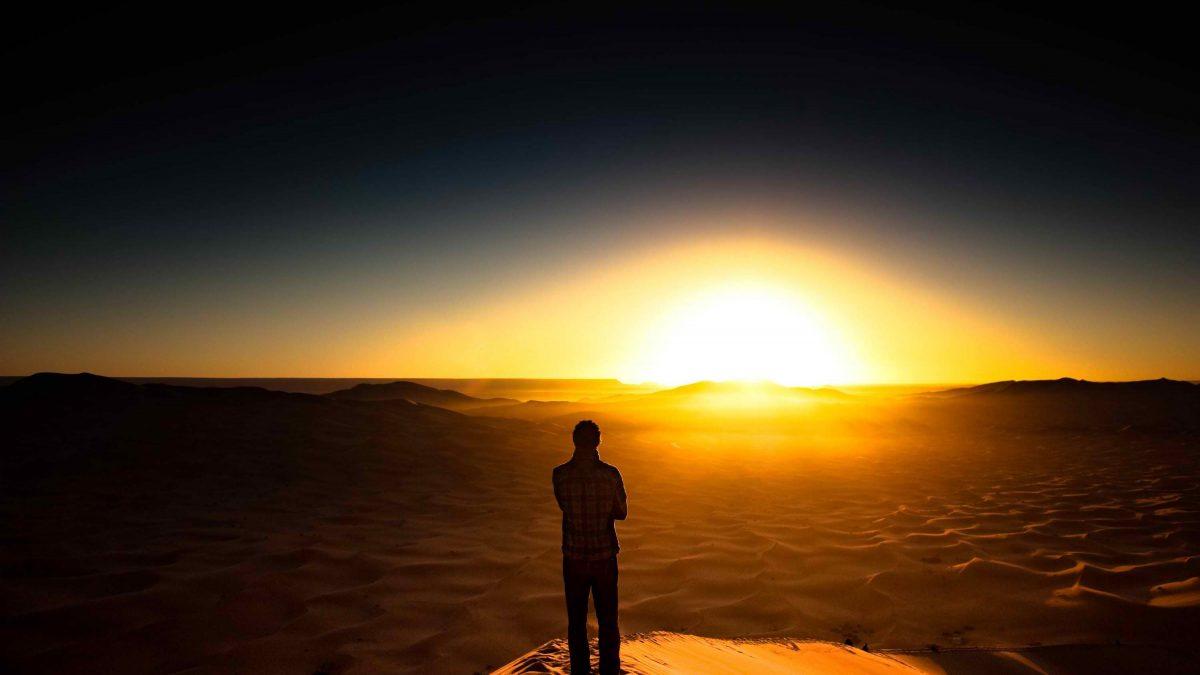 Meditar es un camino hacia la luz